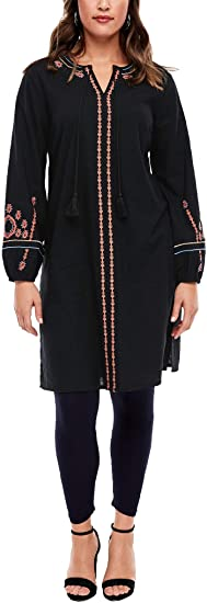 vestido causal alterantivo multicultural para gorditas